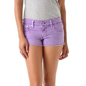 AG Daisy Lilac Colored Shorts